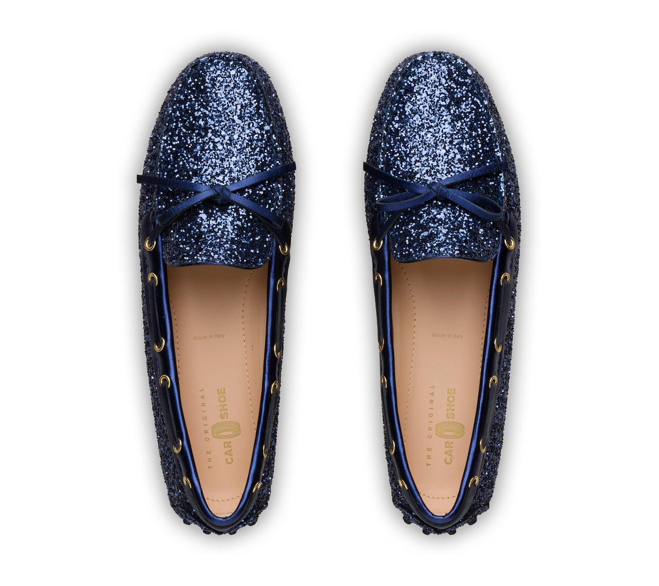 DRIVING SHOES GLITTER