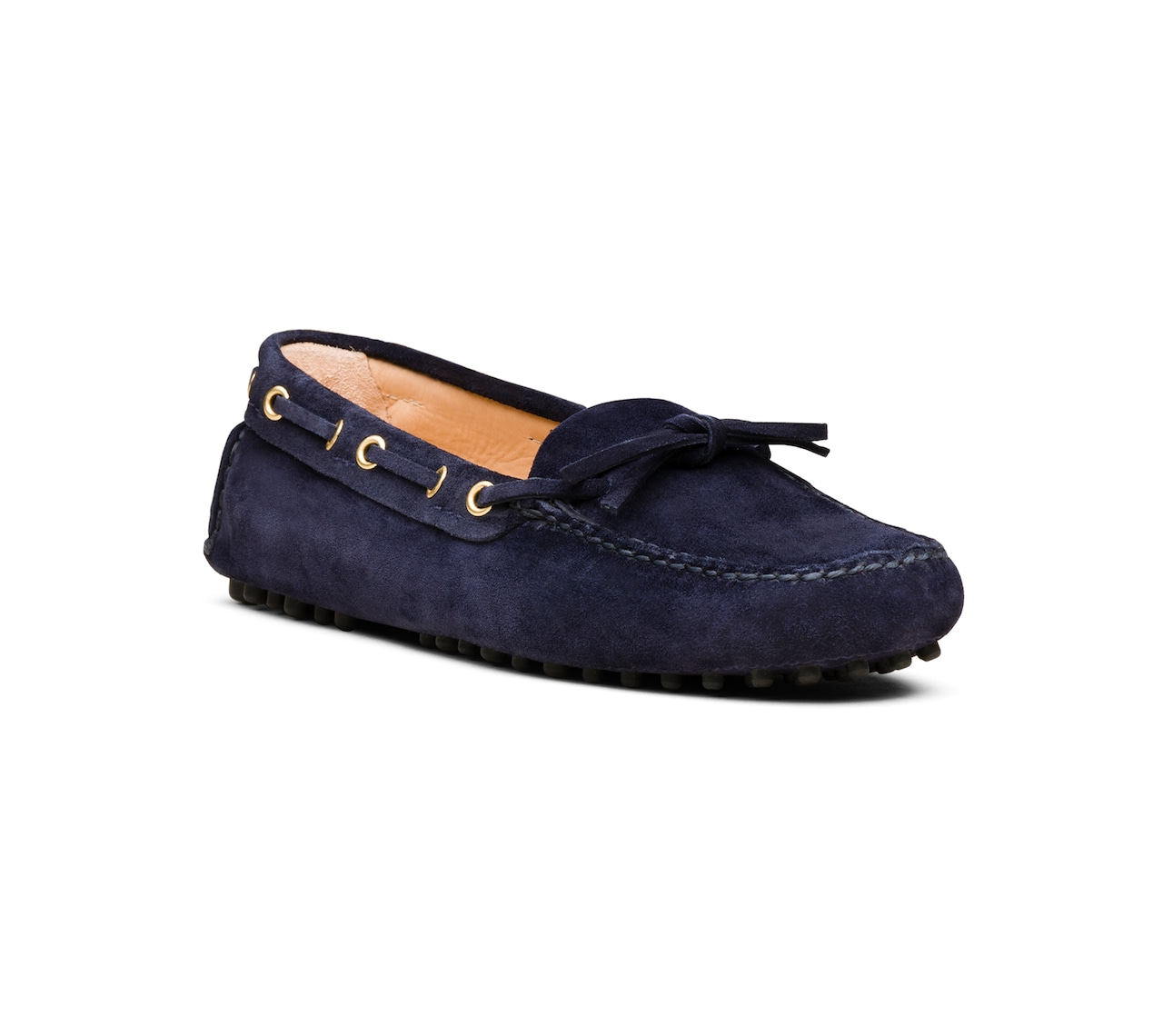 DRIVING SHOES SUEDE BLUE