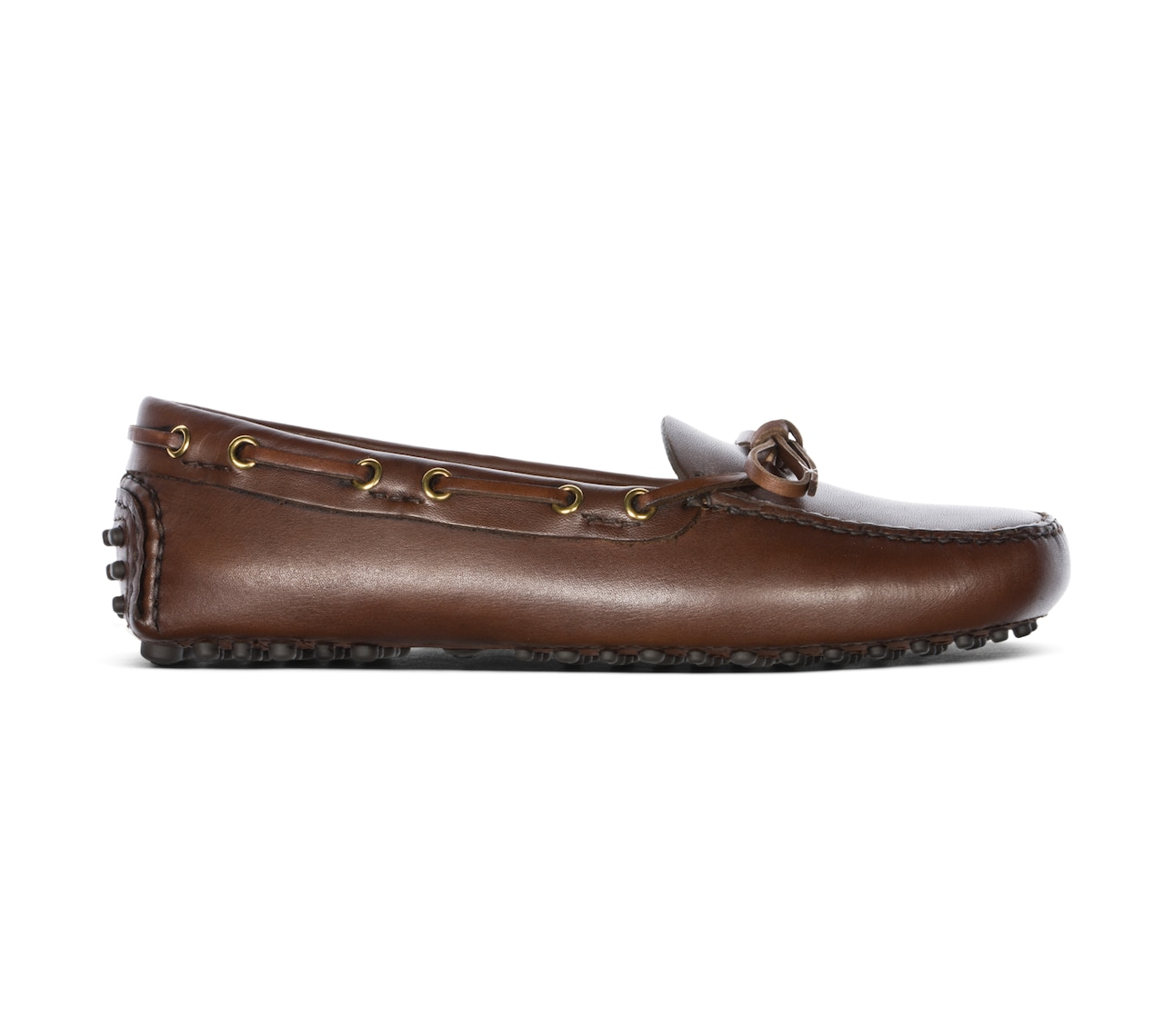 DRIVING SHOES ANTIQUE CALF MARRONE