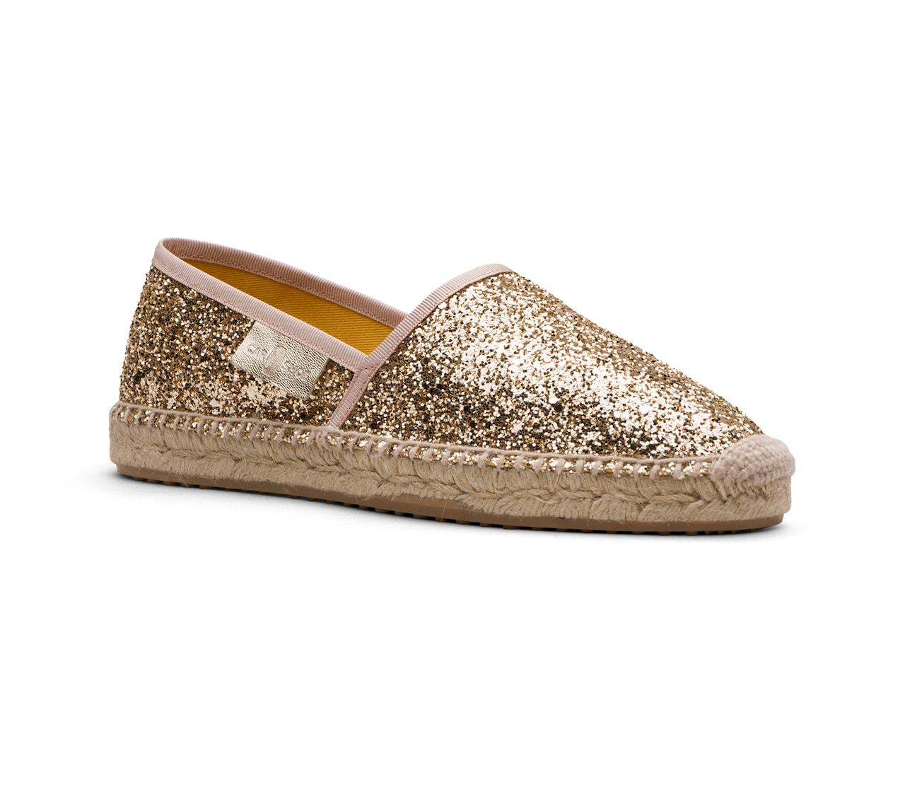 ESPADRILLAS SHOES GLITTER GOLD/SILVER