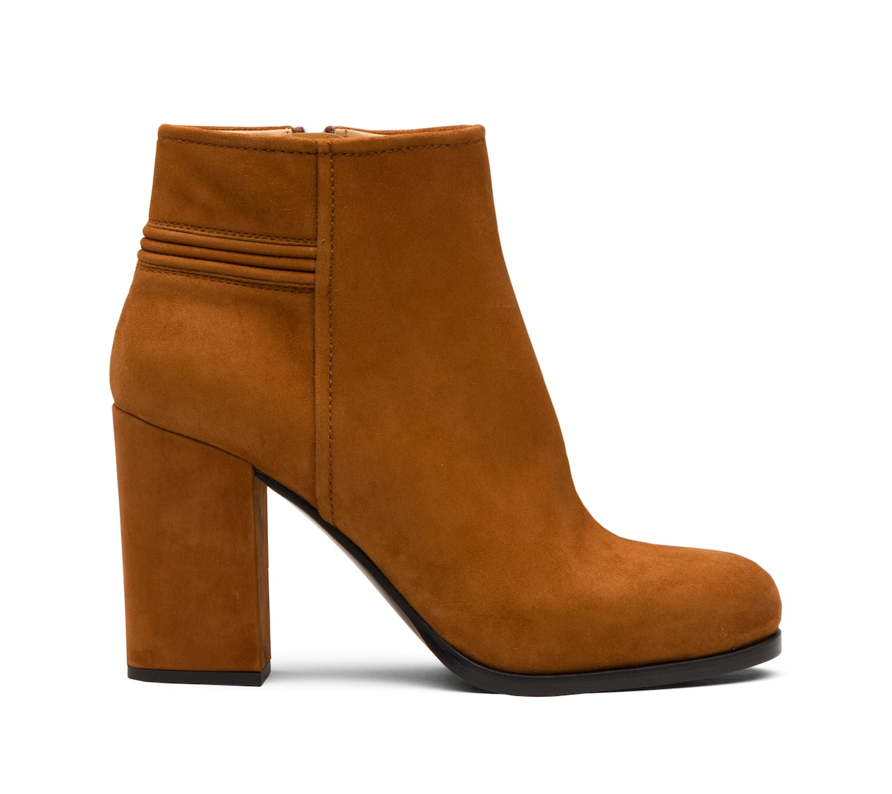 SUEDE BOOTIES BROWN