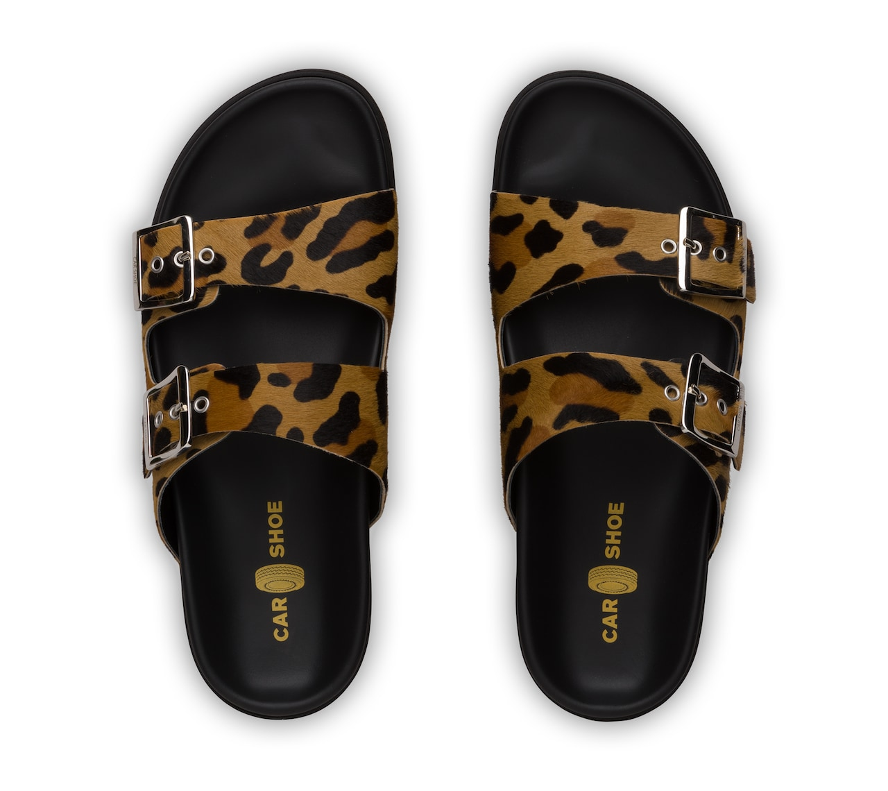 SANDALS LEOPARD PRINT AND LEATHER