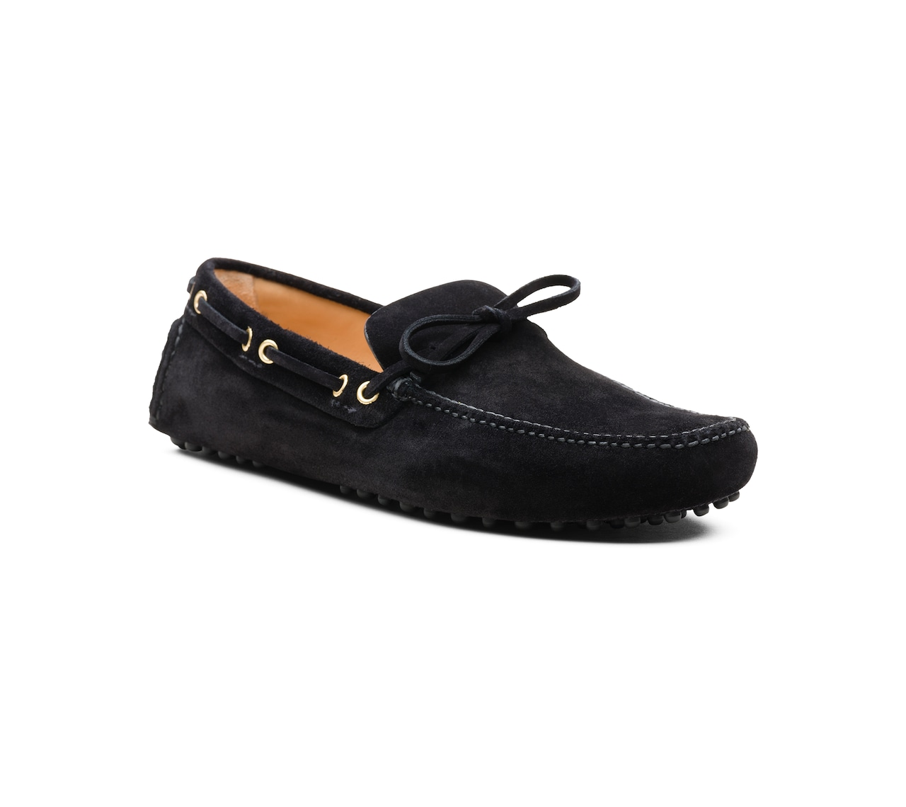 SUEDE DRIVING SHOES BLACK