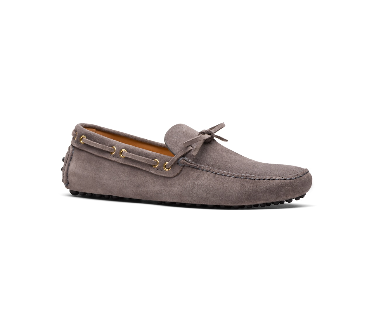 SUEDE DRIVING SHOES GREY