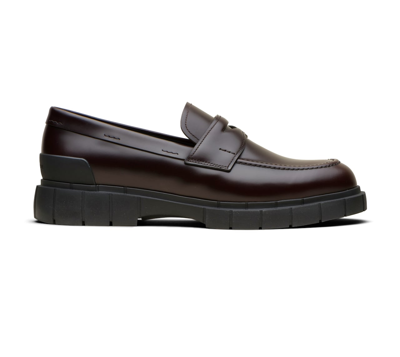 BRIGHT CALF MOCASSINS BROWN