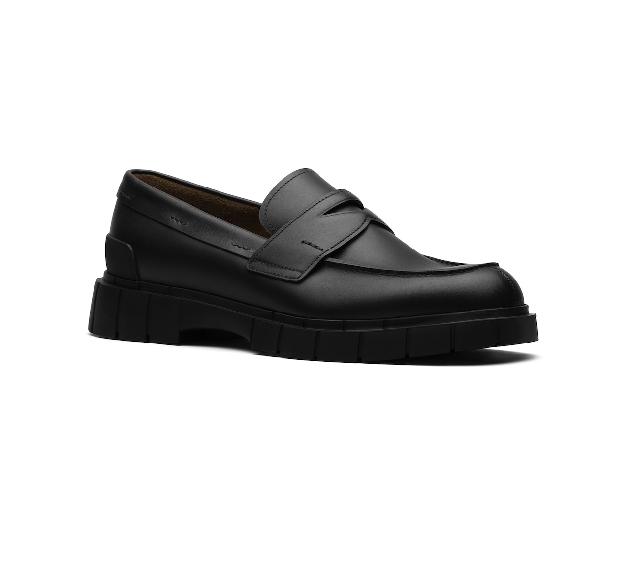 SOFT CALF MOCASSINS BLACK