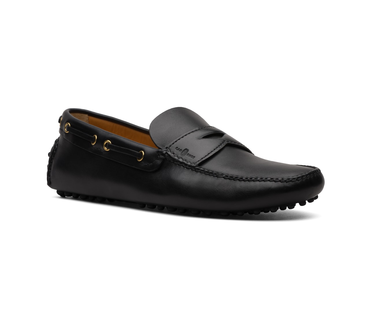 SOFT CALF DRIVING SHOES BLACK