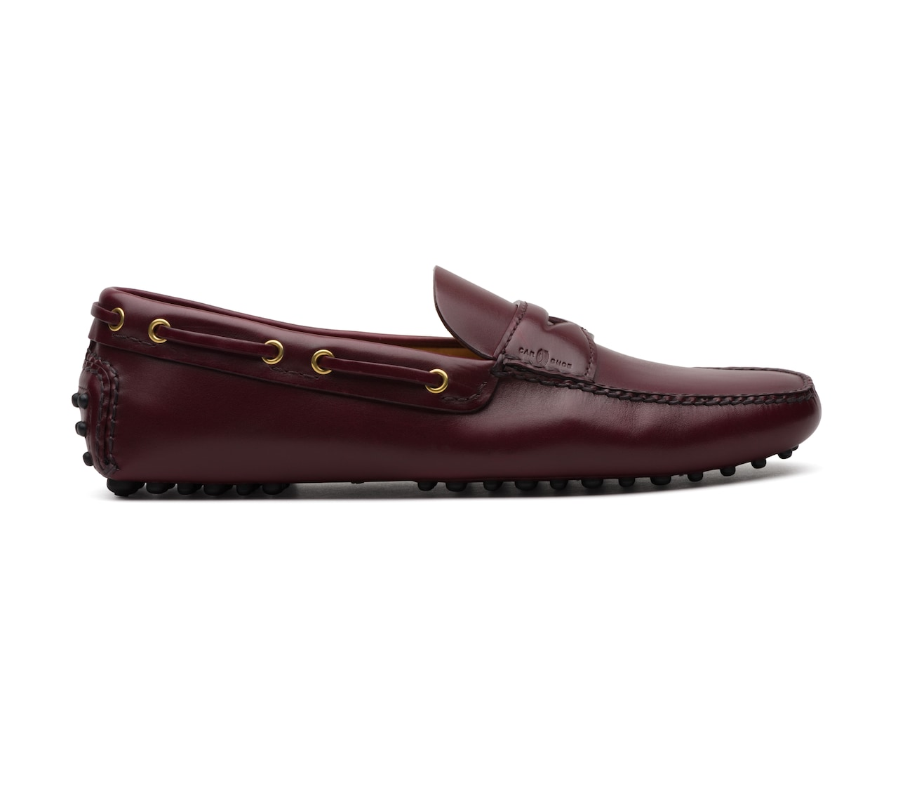 SOFT CALF DRIVING SHOES BURGUNDY