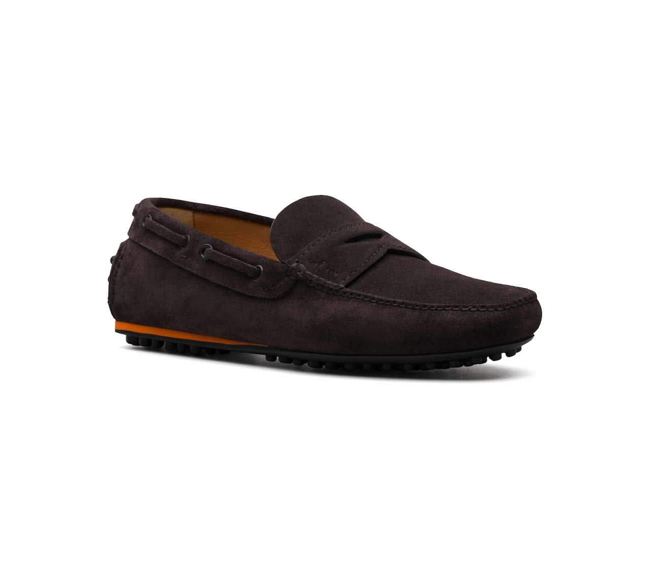 SUEDE DRIVING SHOES BROWN