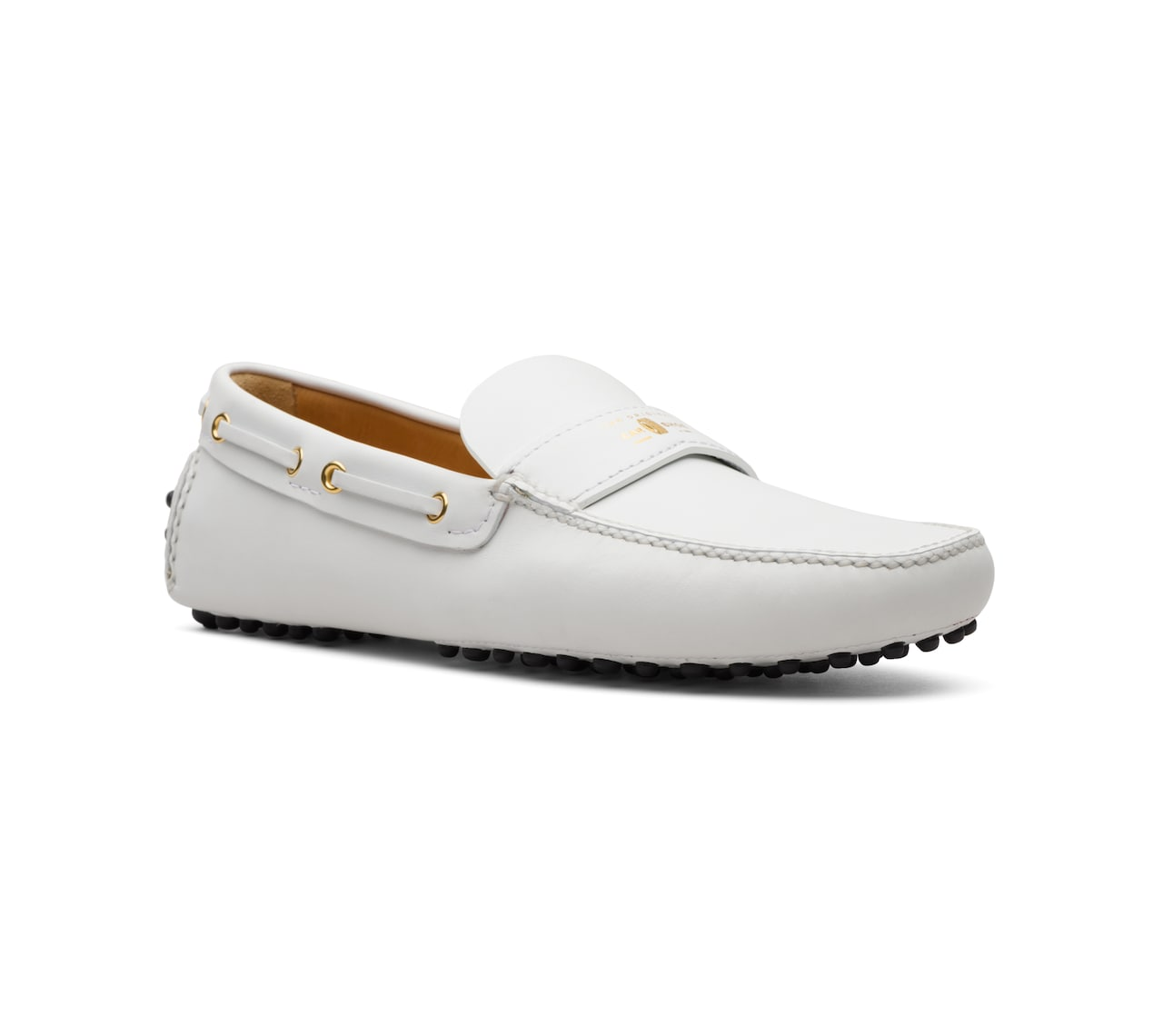 SOFT CALF DRIVING SHOES WHITE