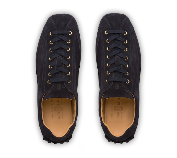 SUEDE LACE UP DRIVING SHOES
