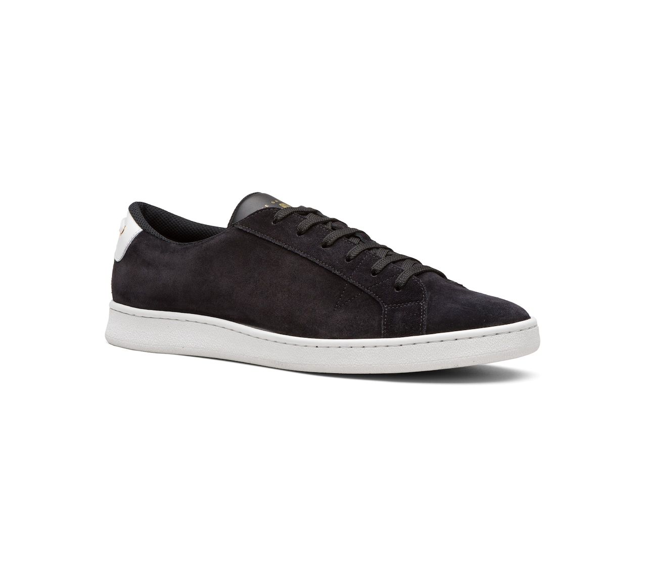 SUEDE SNEAKERS BLACK
