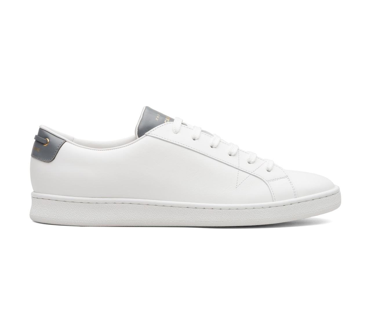 SOFT LEATHER SNEAKERS WHITE