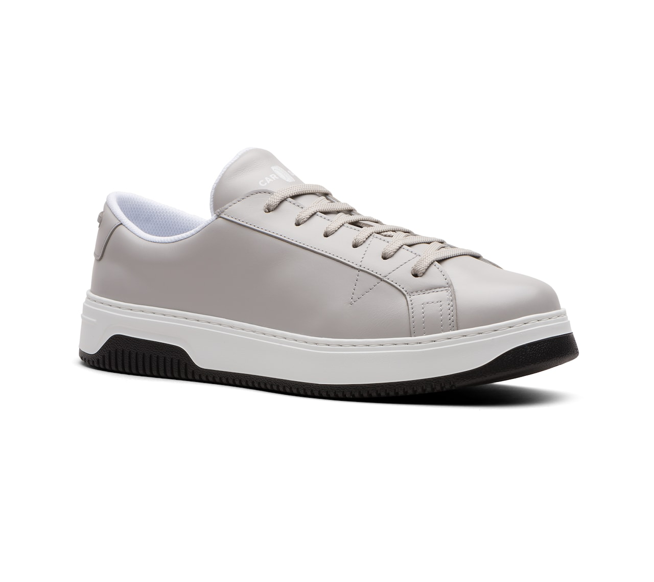 SOFT LEATHER SNEAKERS GREY