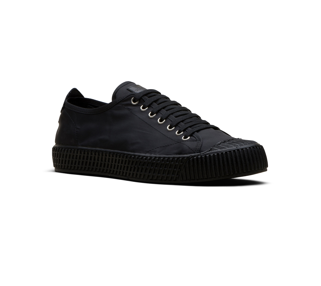 SNEAKER IN NYLON NERO