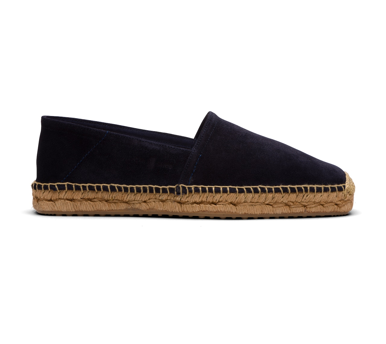ESPADRILLAS IN UNLINED SUEDE BLUE