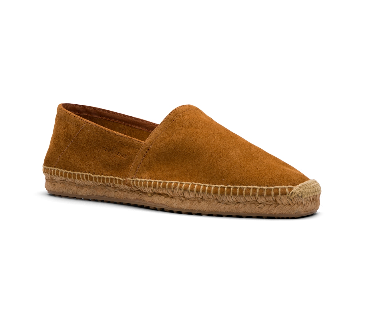 ESPADRILLAS IN UNLINED SUEDE