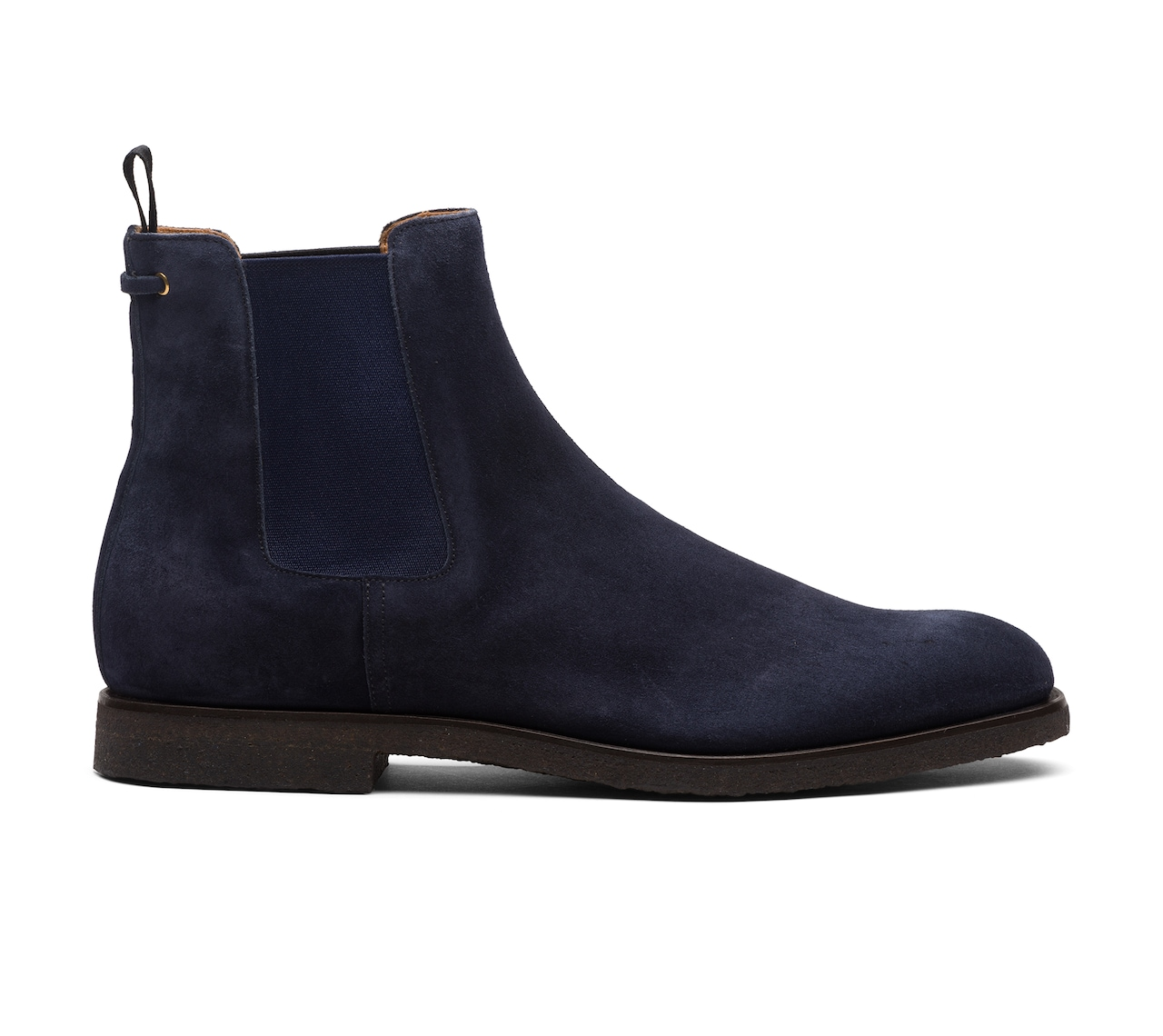 SUEDE BOOTIES BLUE